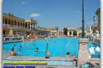 Hungary, Szechenyi Thermal Baths. Travel from Kiev to Ukrainian Tour (044) 360 5737