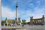 Hungary, Budapest, Heroes' Square. Travel from Kiev to Ukrainian Tour (044) 360 5737
