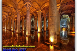 The Basilica Cistern (Yerebatan Sarnici), Istanbul, Turkey. Travel from Kiev to Ukrainian Tour (044) 360 5737