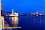 Bosphorus Bridge, Istanbul, Turkey. Travel from Kiev to Ukrainian Tour (044) 360 5737