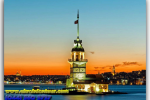 Maiden Tower (Tower Leandrova, Kiz Kulesi), Istanbul, Turkey. Travel from Kiev to Ukrainian Tour (044) 360 5737