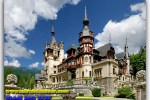 Peles Castle (Castelul Peleş), Sinai (Transylvania), Romania. Travel from Kiev to Ukrainian Tour (044) 360 5737