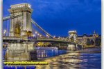 Chain bridge, (Budapest) Chain Bridge. Hungary. Travel from Kiev to Ukrainian Tour (044) 360 5737