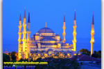 The Blue Mosque and Sultanahmet Mosque (Sultanahmet Camii), Istanbul, Turkey