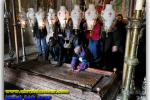 Stone of Anointing, Jerusalem, Israel. Tours of Kiev from the Ukrainian Tour (044) 360 5737