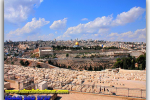 View from the Mount of Olives, Jerusalem, Israel. Tours of Kiev from the Ukrainian Tour (044) 360 5737
