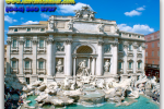 Trevi Fountain. Rome. Italy. Travel from Kiev to Ukrainian Tour (044) 360 5737