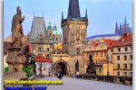Charles Bridge. Prague. Czech Republic. Tours of Kiev from the Ukrainian Tour (044) 360 5737