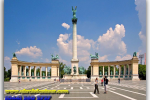 Heroes Square. Budapest. Hungary. Tours of Kiev from the Ukrainian Tour (044) 360 5737