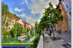 Ljubljana. Slovenia. Tours of Kiev from the Ukrainian Tour (044) 360 5737