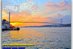 Bosphorus Bridge. Turkey. Tours of Kiev from the Ukrainian Tour (044) 360 5737