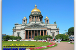 St. Isaac's Cathedral. St. Petersburg. Russia. Travel from Kiev to Ukrainian Tour (044) 360 5737