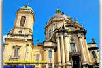 Dominican cathedral. Church of the Holy Eucharist. Lviv. Travel from Kiev to Ukrainian Tour (044) 360 5737