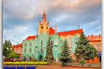 Mukachevo. The Town Hall. Travel from Kiev to Ukrainian Tour (044) 360 5737