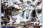 Waterfall spikes. Mizhgirya area. Transcarpathian region. Travel from Kiev to Ukrainian Tour (044) 360 5737
