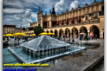 Market Square. Krakow. Poland. Tours of Kiev from the Ukrainian Tour (044) 360 5737