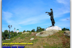 The Monument To The Marusya Boguslavka. Bohuslav. Travel from Kiev to Ukrainian Tour (044) 360 5737