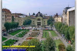 Theater square. Chernivtsi. Travel from Kiev to Ukrainian Tour (044) 360 5737