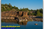 Basalt pillars. Travel from Kiev to Ukrainian Tour (044) 360 5737