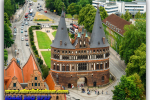 Holstein Gate (Holstentor). Lubeck. Germany. Travel from Kiev to Ukrainian Tour (044) 360 5737